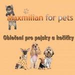 Maxmilian for pets - Psí butik - Lenka Procházková - výroba a prodej kvalitního oblečení pro pejsky a kočičky - Hradec Králové