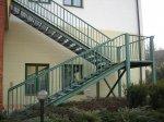 výroba - ocelové schodiště