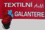 Textilní galanterie A+M - Petra Karbanová - kvalitní textilní galanterie,  potřeby pro švadleny, vyšívaní, pletení, háčkování, šití, pletací příze, látky, metráž - Tišnov, Brněnsko