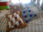 patchwork polštáře