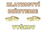 Zlatnictví - bižuterie - Jana Mašková - opravy šperků, prodej a opravy hodinek, výměna baterií, nástěnné hodiny, dárkové předměty - Vyškov