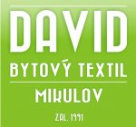 David bytový textil - Kateřina Davidová - kvalitní ložní prádlo, povlečení, prostěradla, ručníky a osušky, ubrusy, záclony a garnýže, koberce a podlahy - Mikulov, Břeclavsko